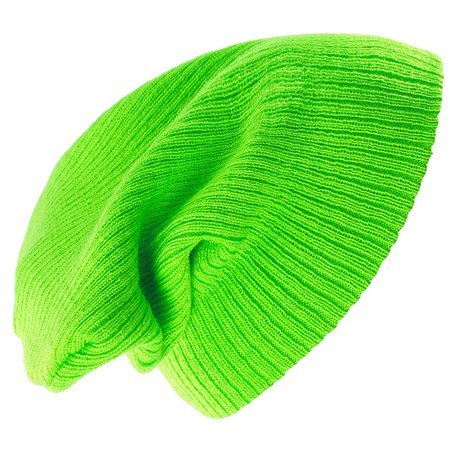lime green slouch beanie - Google Search
