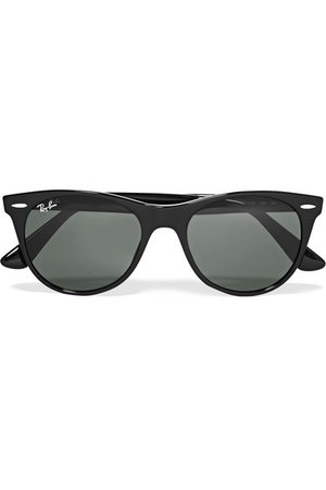Ray-Ban   The Wayfarer II round-frame acetate sunglasses   NET-A-PORTER.COM
