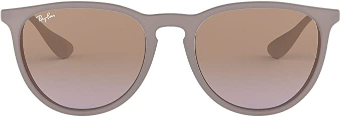 Amazon.com: Ray-Ban Women's RB4171 Erika Sunglasses, Dark Rubber Sand/Violet Brown Gradient, 54 mm: Ray-Ban: Shoes