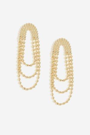 **Cascade Loop Drop Earrings | Topshop