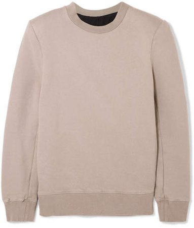 Unravel Project - Cotton-terry Sweatshirt - Gray