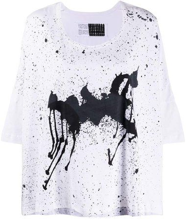Rundholz oversized graphic print T-shirt