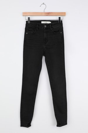 Hidden Jeans Taylor - Black Skinny Jeans - High Rise Skinny Jeans