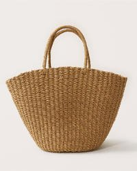 Women's Straw Tote | Women's Accessories | Abercrombie.com