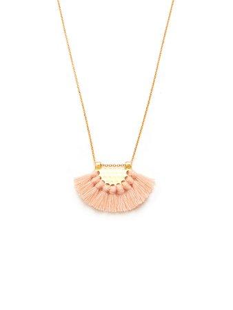 Mini Tassel Pendant Chain Necklace