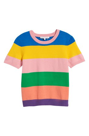 English Factory Colorblock Sweater   Nordstrom
