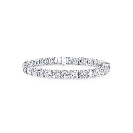 Round Diamond Bracelet | Bridal Jewellery | Graff