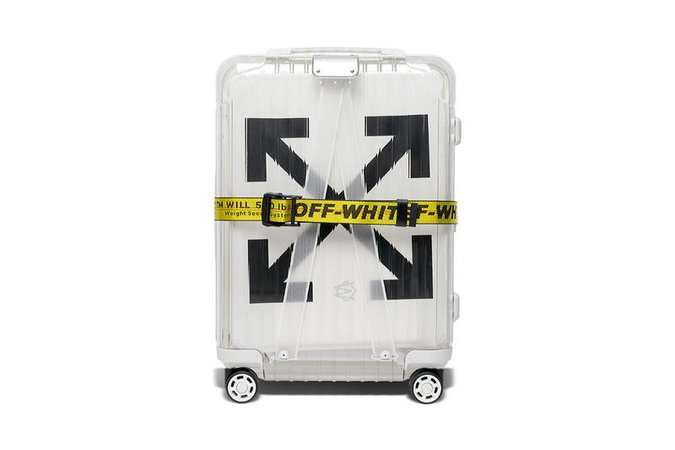 Off White Suitcase