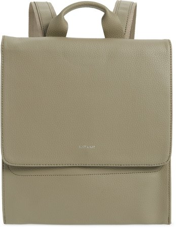 Purity Mavi Vegan Leather Backpack
