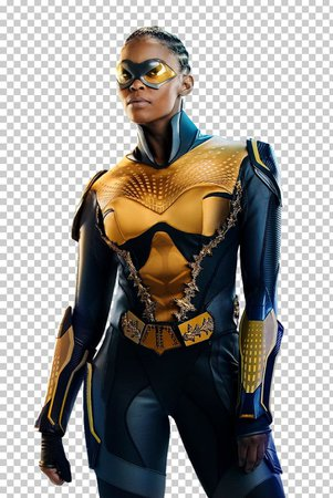 Thunder Black Lightning Nafessa Williams The CW Television Network PNG, Clipart, Action Figure, Black Lightning, Comics, Costume, Dc Comics Free PNG Download