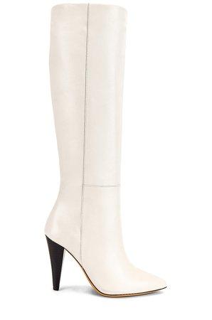 IRO Livry Boot in Off White | REVOLVE