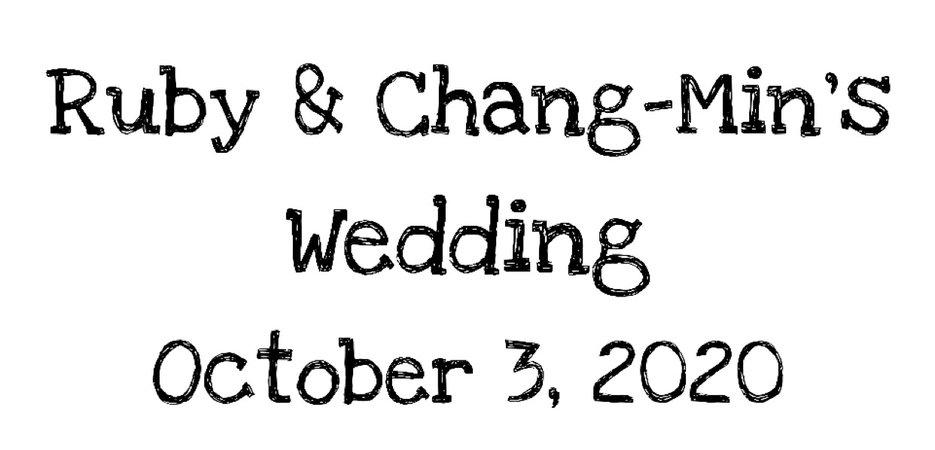 Ruby & Chang-Min wedding