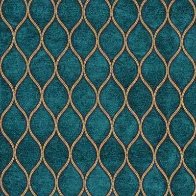 Teal + Gold Patterns