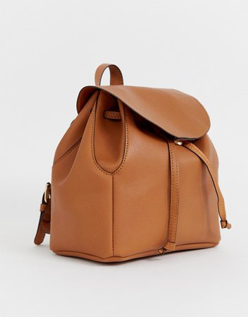 ASOS DESIGN soft minimal backpack | ASOS