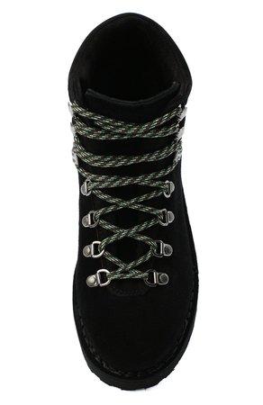 Женские черные замшевые ботинки DIEMME — купить за 31650 руб. в интернет-магазине ЦУМ, арт. DI2007RV06/W
