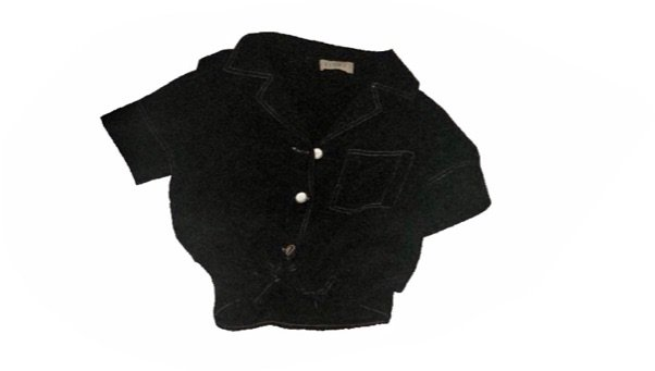 contrast stitch shirt