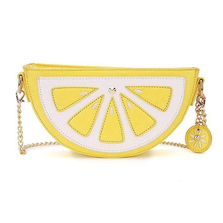 FANCY LOVE Lemon multi function Cross-body Messenger Shoulder Hand Bag Purse for Women and Girls (Lemon): Handbags: Amazon.com
