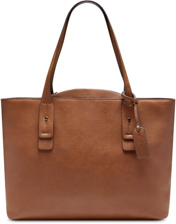 Beryl Faux Leather Tote
