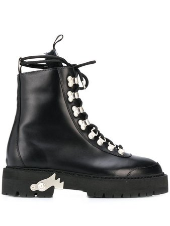 Off-White Hiking lace-up Boots - Farfetch