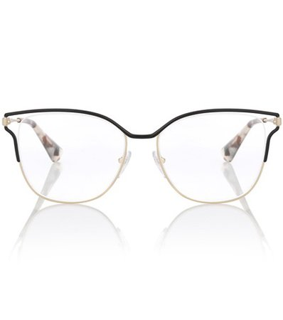 Metal square glasses