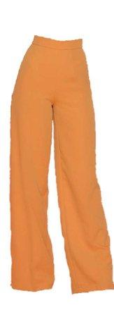 orange pants
