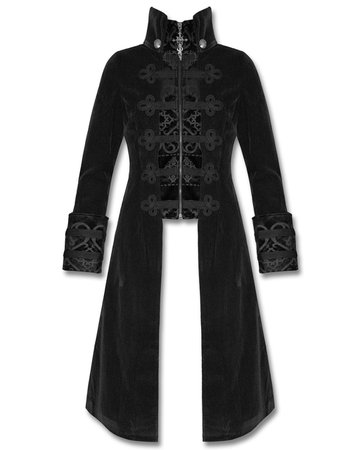 Punk Rave Y-401 Womens Long Gothic Coat