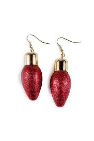 Red Light Earrings 1