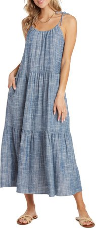 Karina Tiered Maxi Dress