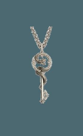 Magerit - Mythology Collection: Necklace Snake Key Small