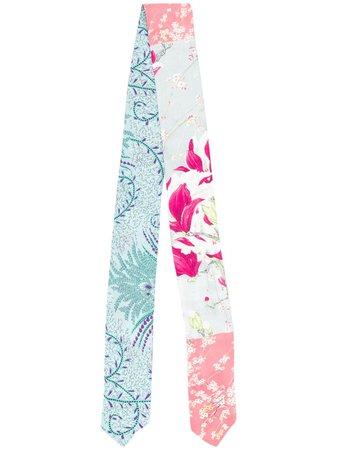Etro floral-print Silk Scarf - Farfetch