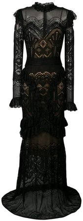 Zuhair long lace gown