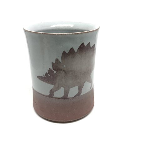 Stegosaurus Dinosaur Mug - Sky – The Smithery . artist made goods .