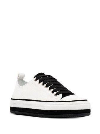 Ann Demeulemeester Platform low-top Sneakers - Farfetch