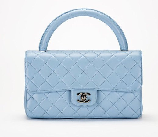 CHANEL BLUE BAG