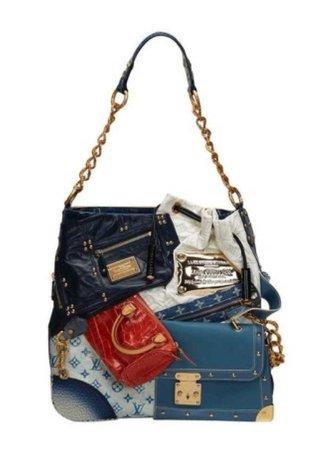 2007 limited edition Louis Vuitton patchwork bag
