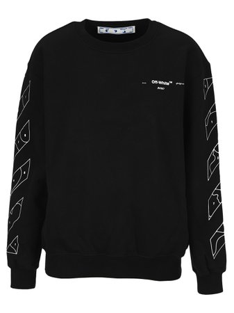 Off-White Off White Puzzle Arrows Printed Sweatshirt