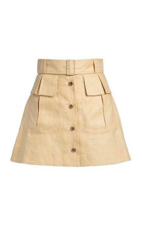 Cargo Mini Skirt By Matthew Bruch   Moda Operandi