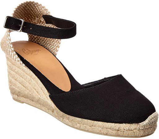 CastaEr Carol Canvas Wedge Espadrille