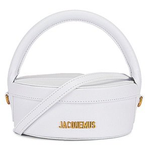 jacquemus la boite a gateaux white bag