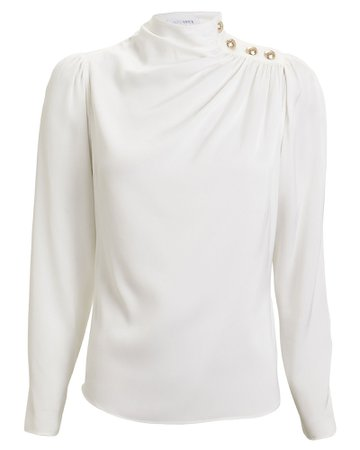 INTERMIX Private Label | Monica Silk Blouse | INTERMIX®