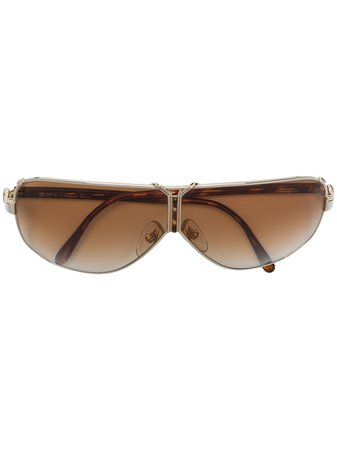 Christian Dior Oval Framed Tinted Sunglasses - Farfetch