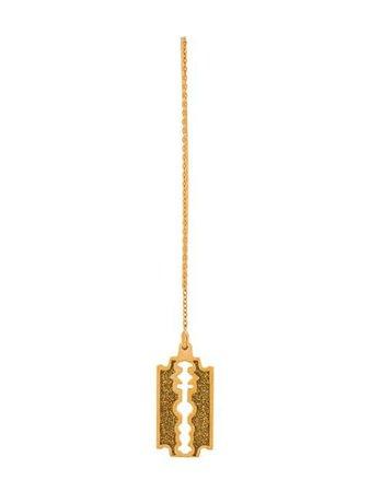 True Rocks Glitter Razor Drop Earring GOLDGLITTERRAZORDROPEARRING Gold | Farfetch