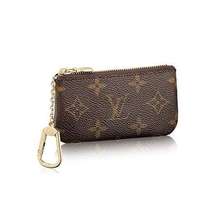 Amazon.com: Louis Vuitton Monogram Canvas Key Pouch M62650: Shoes