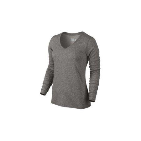 grey nike long sleeve