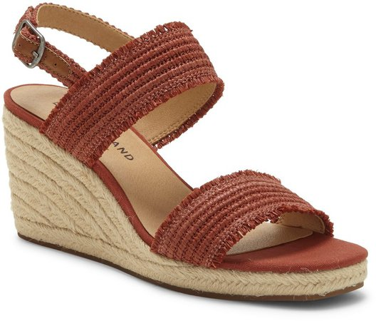 Minjah Wedge Platform Sandal