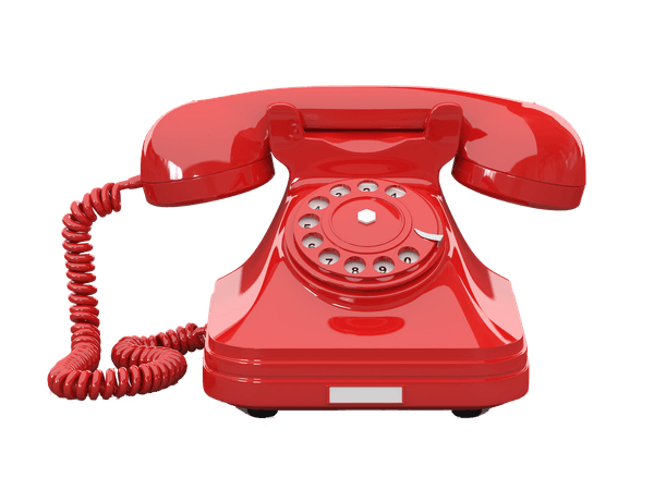 telephone phone red retro vintage old rotary freetoedit...