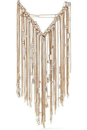 Rosantica | Gold-tone crystal hairclip | NET-A-PORTER.COM