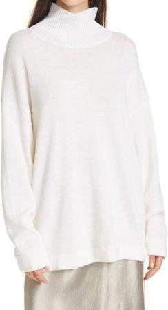 Lancia Oversize Wool Turtleneck Sweater