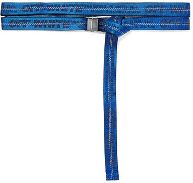 Off-White - Jacquard Belt - Blue