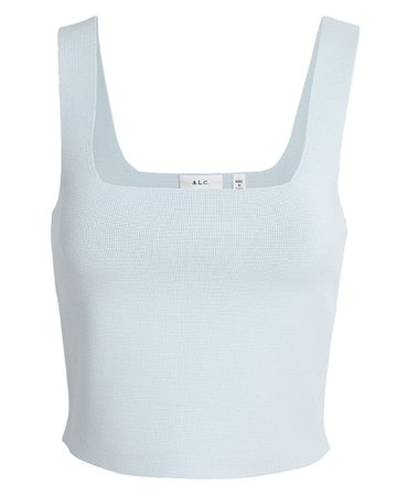 A.L.C. Victoria Knit Tank Top | INTERMIX®